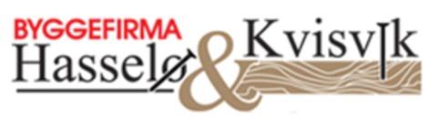 Byggefirma Hasselø & Kvisvik AS logo