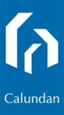 Ejendomsmæglerfirmaet Calundan logo