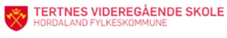 Tertnes videregående skole logo