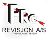 Pro Revisjon AS logo