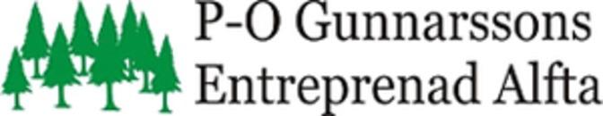 P-O Gunnarssons Entreprenad logo