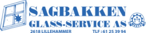 Sagbakken Glasservice AS logo