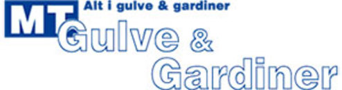 MT Gulve og Gardiner logo