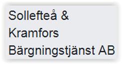 Sollefteå & Kramfors Bärgningstjänst AB logo