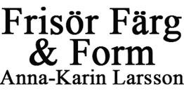 Frisör Färg & Form, Anna-Karin Larsson logo