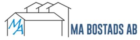 M.A Bostads AB logo