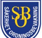 Säkerhet OrdningsBevakning SOB AB logo