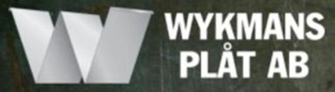 Wykmans Plåt AB logo