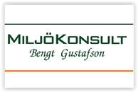 MiljöKonsult Bengt Gustafson logo