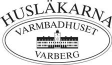 Husläkarna Varmbadhuset logo