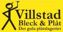 Villstad Bleck O Plåt logo