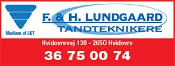 F. & H. Lundgaard Kliniske Tandteknikere ApS logo