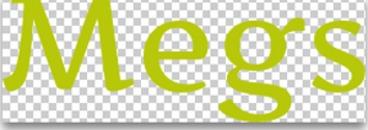 Megs kök och trevligt logo
