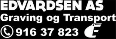 Edvardsen Graving og Transport AS logo