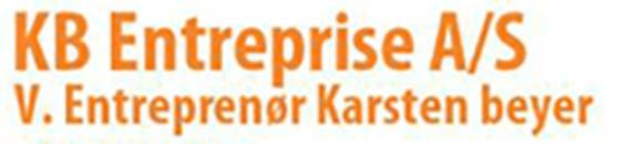 KB Entreprise A/S logo