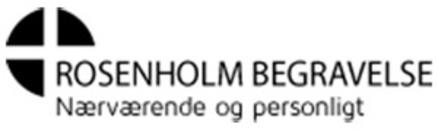 Rosenholm Begravelse logo
