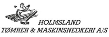 Holmsland Tømrer- og Maskinsnedkeri A/S logo