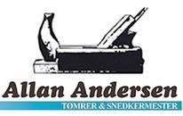 Tømrermester og murerfirmaet Allan Andersen logo