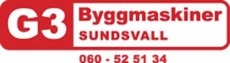 G3 Byggmaskiner AB logo