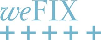 weFIX Event Fjäderholmarna logo
