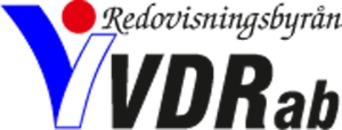 VVDR Redovisning AB logo