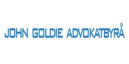 Goldie Advokatbyrå AB, John logo