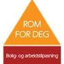 ROM FOR DEG, bolig- og arbeidstilpasning logo
