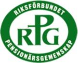 Riksförbundet PensionärsGemenskap -RPG logo