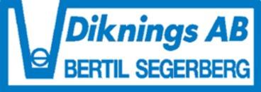 Diknings AB Bertil Segerberg logo