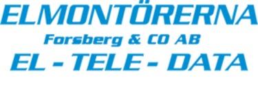 Elmontörerna Forsberg & Co AB logo