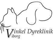 Vinkel Dyreklinik Viborg logo