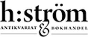 h:ström - Antikvariat & Bokhandel logo