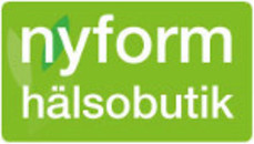 Nyform Hälsobutik logo