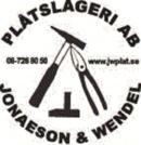 Plåtslageri AB Jonaeson Wendel logo