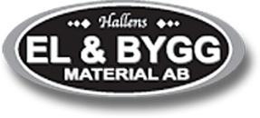 Hallens El & Byggmaterial AB logo