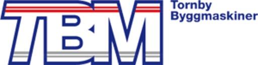 TBM, Tornby Byggmaskiner i Linköping AB logo