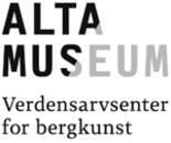 Verdensarvsenter for bergkunst - Alta Museum logo