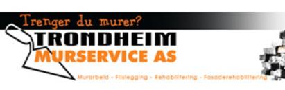 Trondheim Murservice AS logo