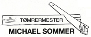 Tømrermester Michael Sommer logo