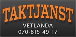 Taktjänst Vetlanda logo