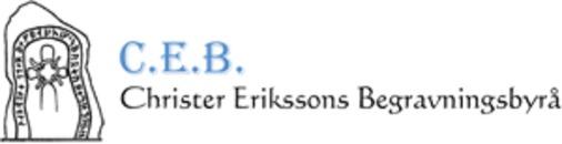 C.E.B. Christer Eriksson Begravningsbyrå logo