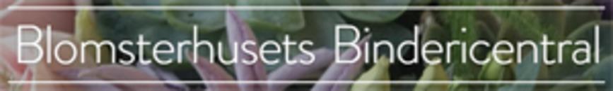 Blomsterhusets Bindericentral logo