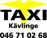 Taxi Kävlinge AB logo
