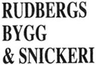 Rudbergs Bygg & Snickeri logo