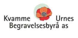 Kvamme & Urnes Begravelsesbyrå AS logo