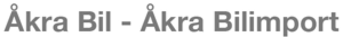 Åkra Bilimport AS logo