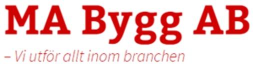 MA Byggnads AB logo