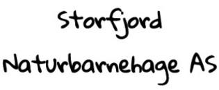 Storfjord Naturbarnehage AS logo