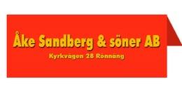 Entreprenadfirman Åke Sandberg & Söner AB logo