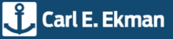 AB Carl E. Ekman logo
